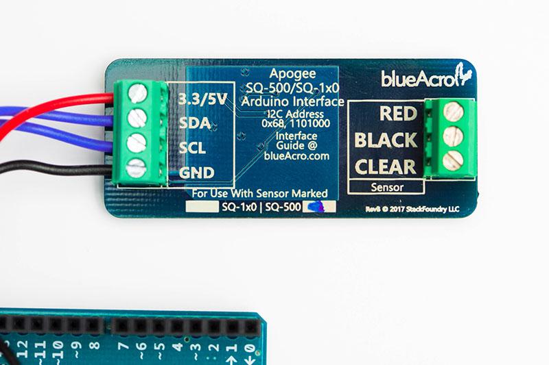 blueAcro - Apogee SQ500 Interfaces